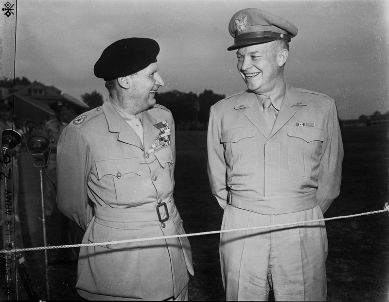 "<a href=""/items/browse?advanced%5B0%5D%5Belement_id%5D=50&advanced%5B0%5D%5Btype%5D=is+exactly&advanced%5B0%5D%5Bterms%5D=Generals+Eisenhower+and+Montgomery+at+Ft.+Myer%2C+Virginia+"">Generals Eisenhower and Montgomery at Ft. Myer, Virginia </a>"